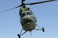 Free MI2 - Military Helicopter Royalty Free Stock Photos - 9943008
