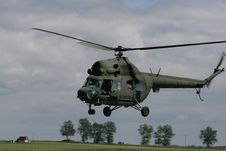 MI2 - Military Helicopter Royalty Free Stock Photos