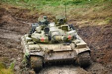 Free Russian Tank Royalty Free Stock Photos - 9943128