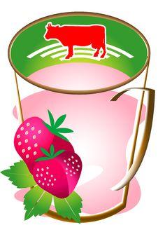 Free Cap Of Mil Strawberry Stock Image - 9943531