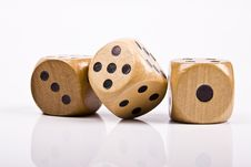Free Dice Royalty Free Stock Photos - 9944628