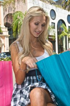 Free Rodeo Drive Shopping Day Stock Images - 9945484