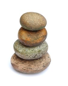 Free Pebble Pyramid Stock Image - 9946841