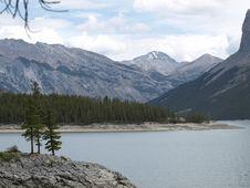 Lake Miniwanka Stock Image