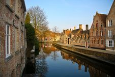 Free Bruges Channel Stock Photos - 9947083