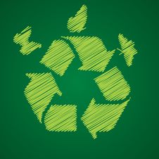 Free Recycle Symbol Stock Photography - 9947222