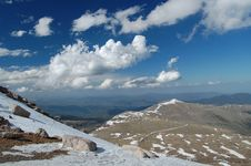 Free Mt. Evans Road Royalty Free Stock Photography - 9947517