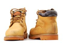 Free Yellow Boots Royalty Free Stock Photo - 9948165