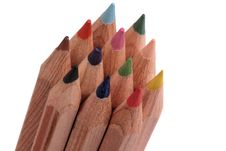 Free Color Pens Royalty Free Stock Image - 9949126