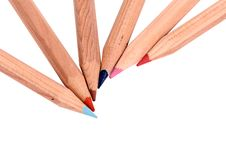 Free Color Pens Royalty Free Stock Image - 9949166