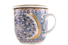 Free White Cup For Tea Stock Image - 9949401