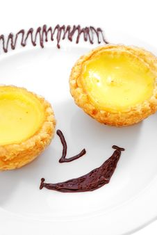 Free Smiling Tart Royalty Free Stock Images - 9949659