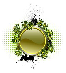 Free Vector Button With Popular Elements Stock Image - 9949891