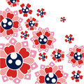 Free Floral Background Vector Stock Image - 9952591