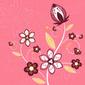 Free Floral Design Vector Royalty Free Stock Photo - 9952695