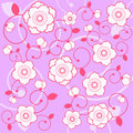 Free Floral Background Vector Royalty Free Stock Photo - 9952745