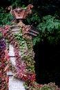 Free Well Dress Pillar In Autumn Stock Photography - 9954362