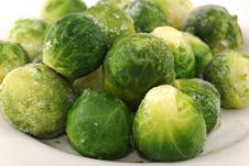 Free Green Ripe Cabbage Stock Photography - 9950132