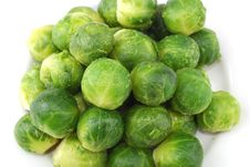 Free Green Ripe Cabbage Royalty Free Stock Images - 9950149