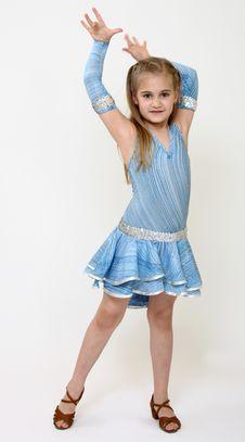 Free Dancer Girl Royalty Free Stock Image - 9950216