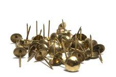 Free Thumb Tacks - Drawing Pins Royalty Free Stock Image - 9950476
