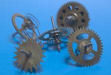 Free Clockwork Mechanism It S Broken Royalty Free Stock Images - 9950489