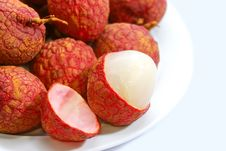 Free Fresh Lychee Series 02 Royalty Free Stock Images - 9950779