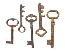 Free Old Keys Stock Photo - 9950890