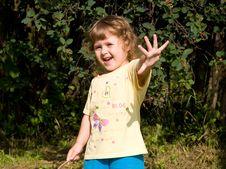Free Nice Little Girl Stock Image - 9951801