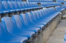 Free Stadium Seats Royalty Free Stock Images - 9951899