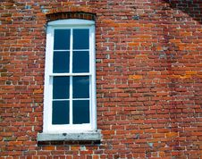 Window Of Old One Room School Royalty Free Stock Photos