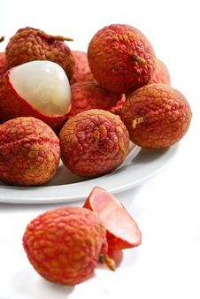 Free Fresh Lychee Series 02 Stock Photography - 9952352