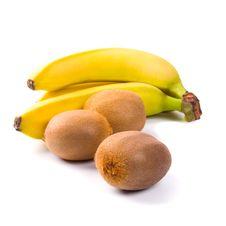 Fresh Kiwi And Banana Royalty Free Stock Photo