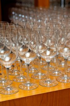 Free Wine Glasses Royalty Free Stock Images - 9953159