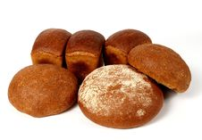Free Assortment Of Rye Bread Royalty Free Stock Photos - 9953248
