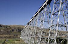 Free Joso Bridge In Eastern Washington. Stock Images - 9953374