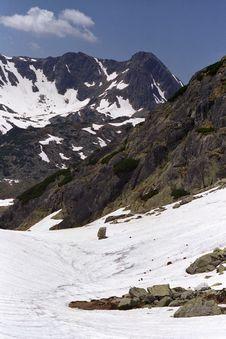 Free Alpine View Royalty Free Stock Photos - 9953858