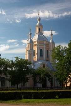 Free Andrey Pervozvanny Cathedral Stock Photo - 9954110