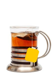 Free Tea In A Glass Royalty Free Stock Photo - 9955205