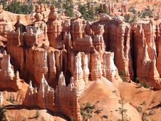 Free Bryce Canyon Hoodoos Stock Photography - 9955842