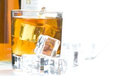 Free Alcoholic Beverage Whith Ice Cubes Royalty Free Stock Photography - 9956077