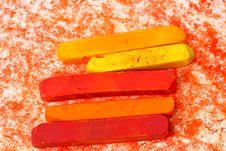 Free Macro Of Pastel Sticks Stock Photography - 9956172