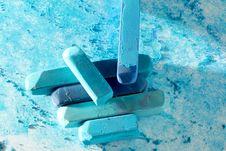 Free Macro Of Pastel Sticks Stock Photo - 9956220