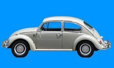 Free Punch Buggy Car Royalty Free Stock Photos - 9956308