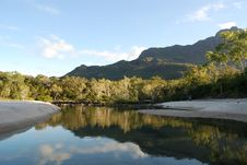 Free Lagoon At Little Ramsay Bay On Hinchinbrook Island Royalty Free Stock Image - 9956566