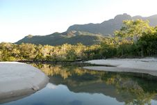 Free Lagoon At Little Ramsay Bay On Hinchinbrook Island Stock Photography - 9956612