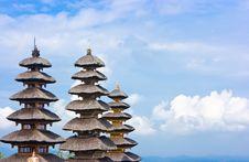 Free Pagoda In The Sky Royalty Free Stock Photos - 9956698