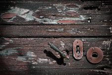 Free Old Door Royalty Free Stock Image - 9956976