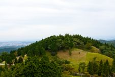 Free Japanese Mountain Landmark Stock Photography - 9957012