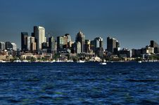 Free City By The Water Stock Image - 9958661